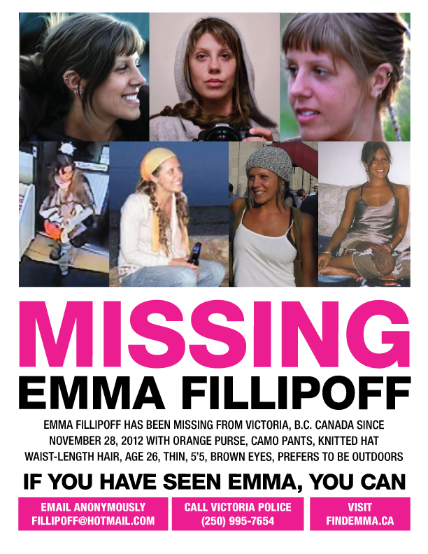 EMMA FILLIPOFF MISSING Poster
